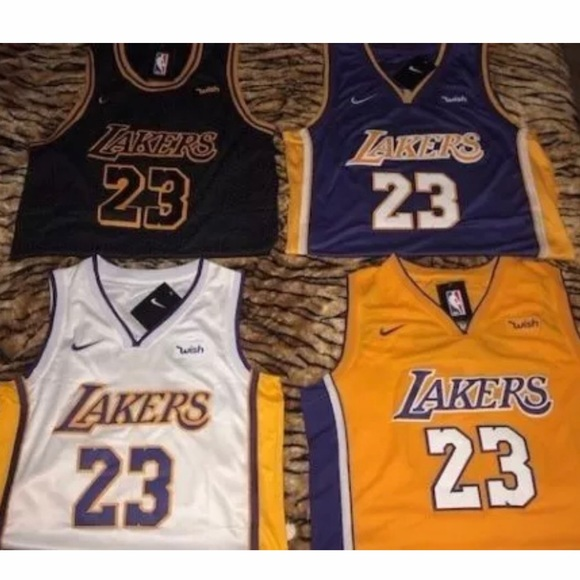 daae89657 LeBron James Lakers Jersey Los Angeles Home   Away. NWT